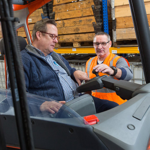 instructie-reachtruck